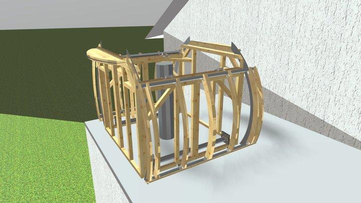 2x2m 3D Model