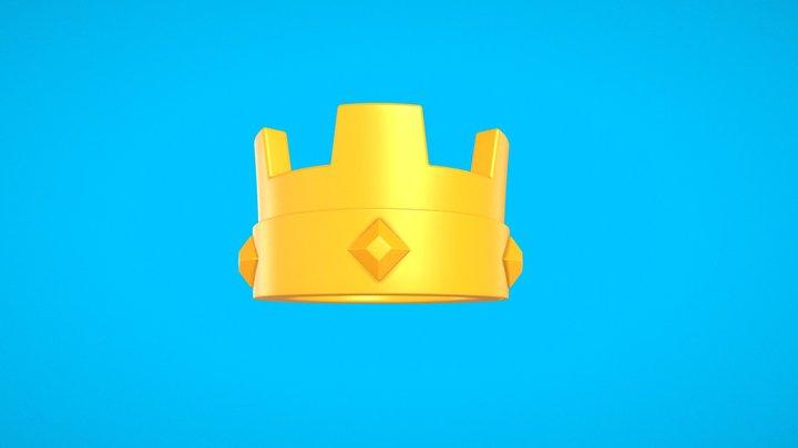 Clash Royale | Crown 3D Model