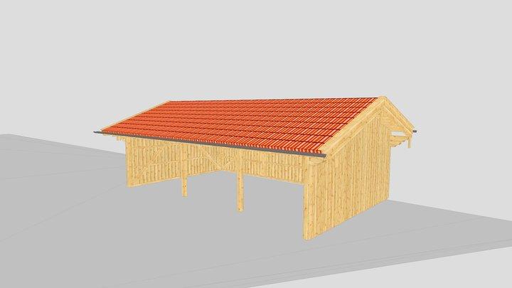 Carport Prien 3D Model