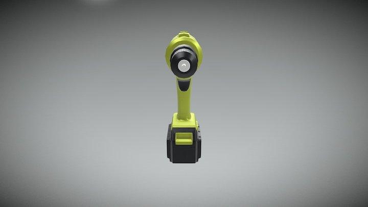 Drill LOD A 3D Model