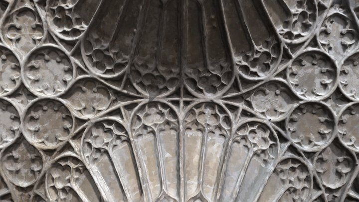 Cloister Roof at Gloucester Cathedral 3D Model