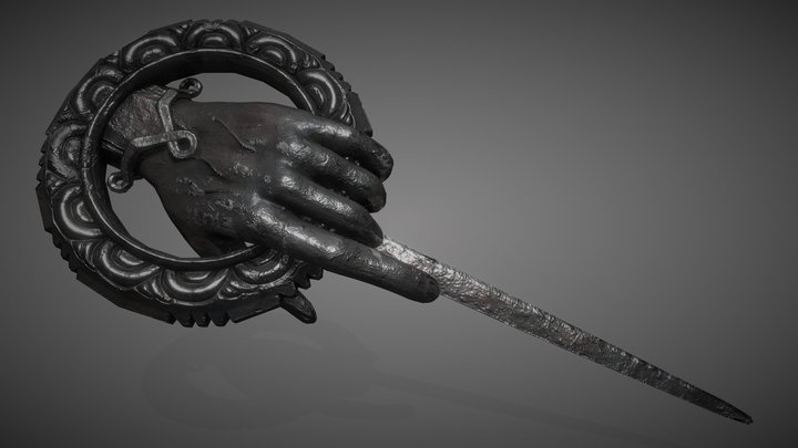 Hand of the Queen Pin - Game of Thrones 3D Model