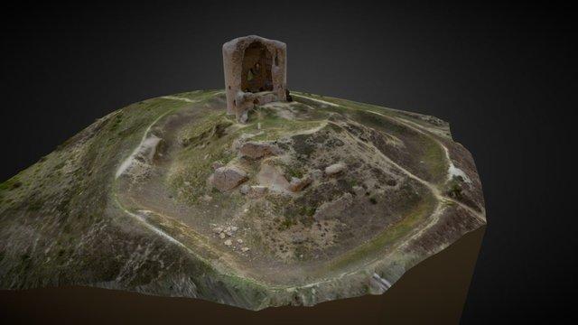 Torreón de Mota del Marqués 3D Model
