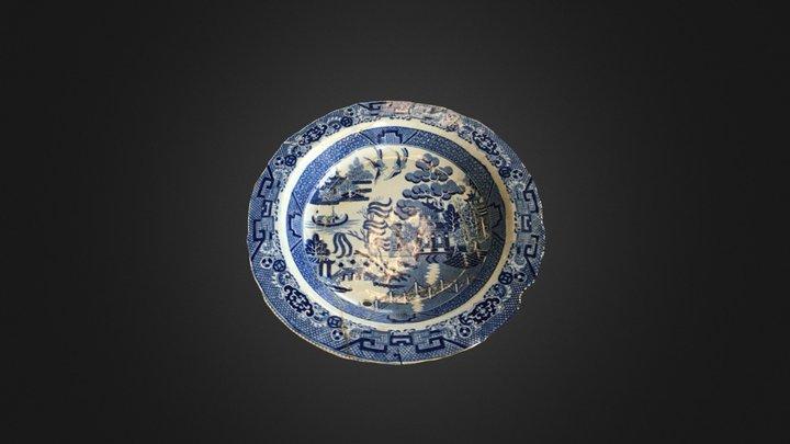 Soup Plate - Isabel 3D Model