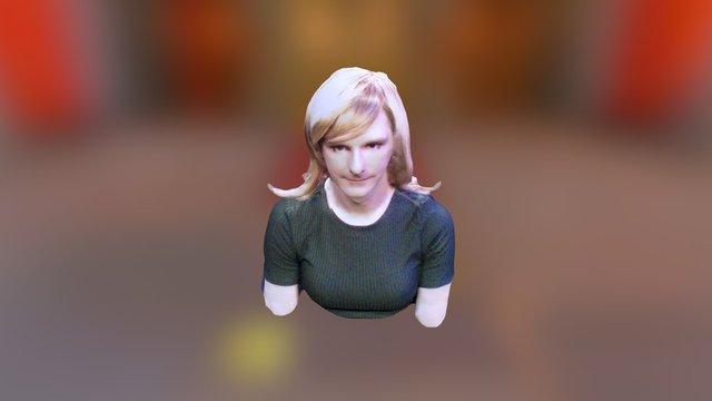 Zoe's PAX South RealSense 3D Scan 3D Model