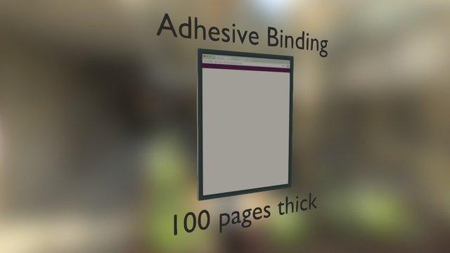 Notepad 3D Model