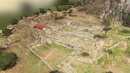Labraunda - Sanctuary of Zeus 3D Model