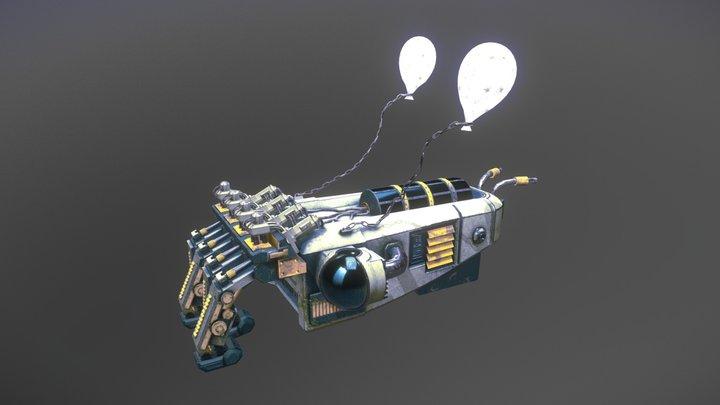 CTTLFSH: Underwater Scavenger Mech 3D Model