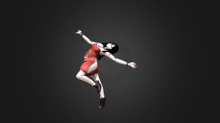 Shema the Dancer 3D Model
