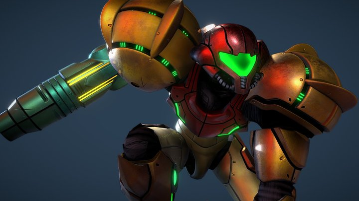 Samus Aran - Varia Suit 3D Model