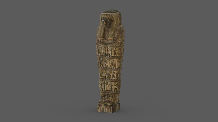 PAHMA 6-19928, The Inner Coffin of Iwefaa 3D Model