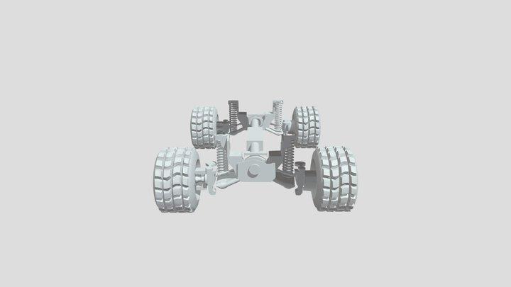 Under The Car 3D Model