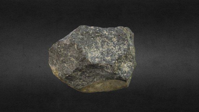 Mata Menge Stone Core 3D Model