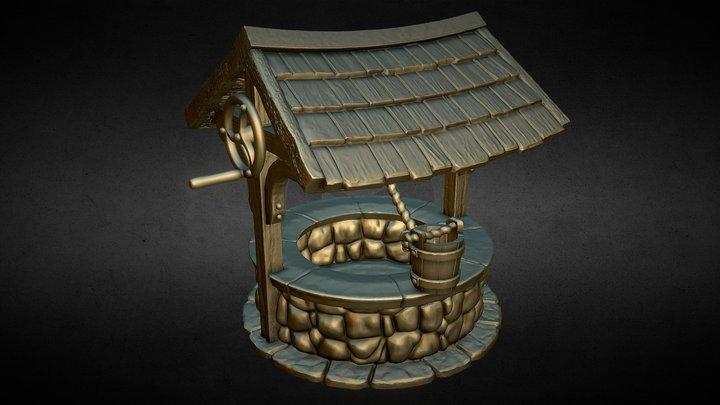 Nemoriko`s : Tabletop Brunnen 3D Model