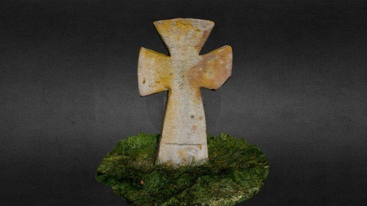 Кам'яний хрест 3D Model