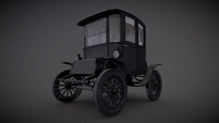 Baker Electric Car 3D Model