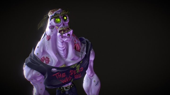 #ZombieChallenge entry - the dead will rise 3D Model