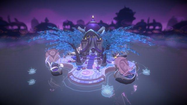 Suramar Moon Carnivale: WoW Legion Contest Entry 3D Model