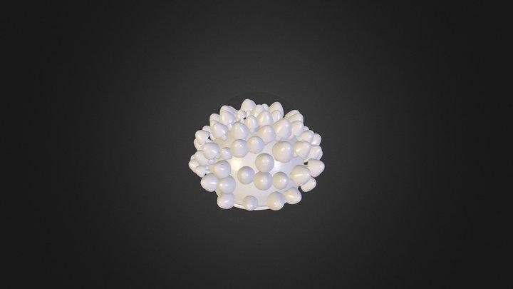 mushroom lamp 3D Model