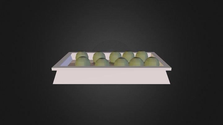 Køkkenkasse 3D Model