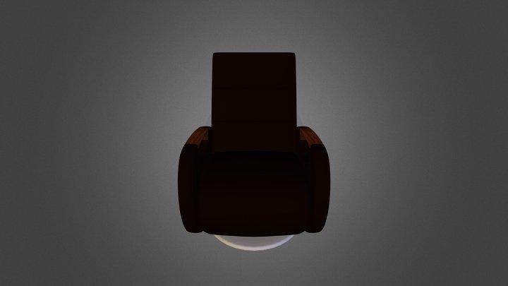 Rock Chair 3D Model