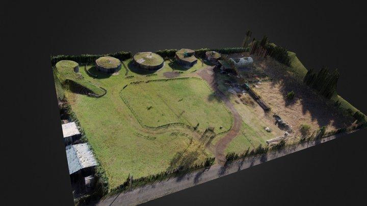 Cabañas Ecológicas Valacirca 3D Model