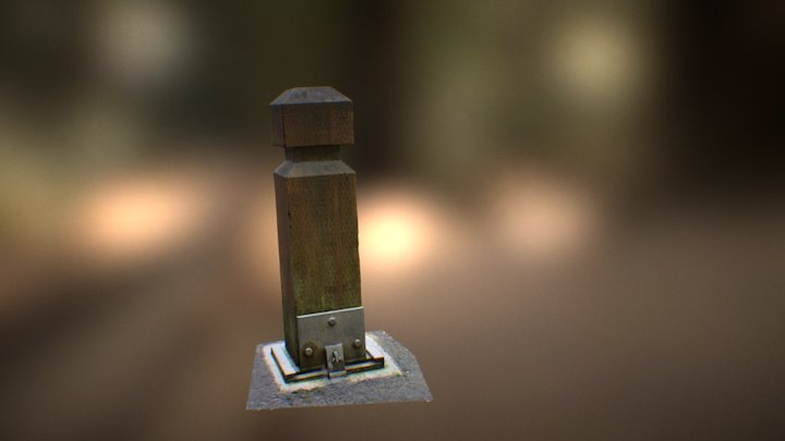 Posting about a post Photoscan 3D Model