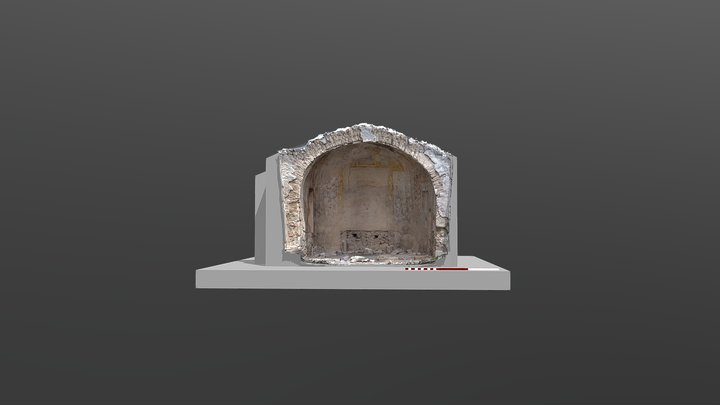 Ábside de Santa Cristina (La Puebla de Albortón) 3D Model