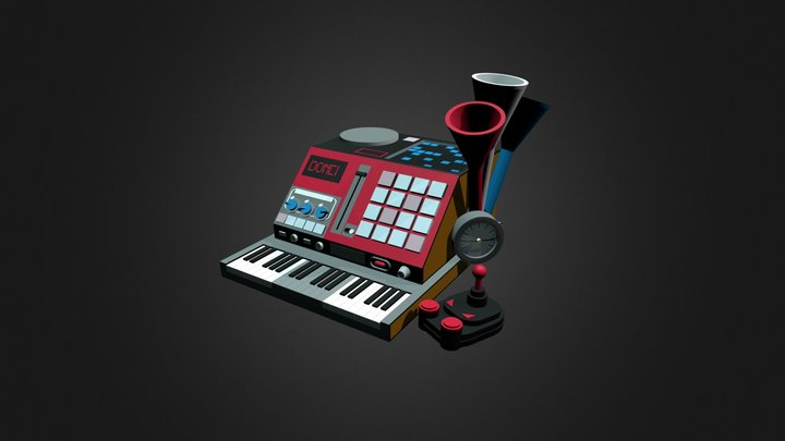 Doncamatic (instrument) 3D Model
