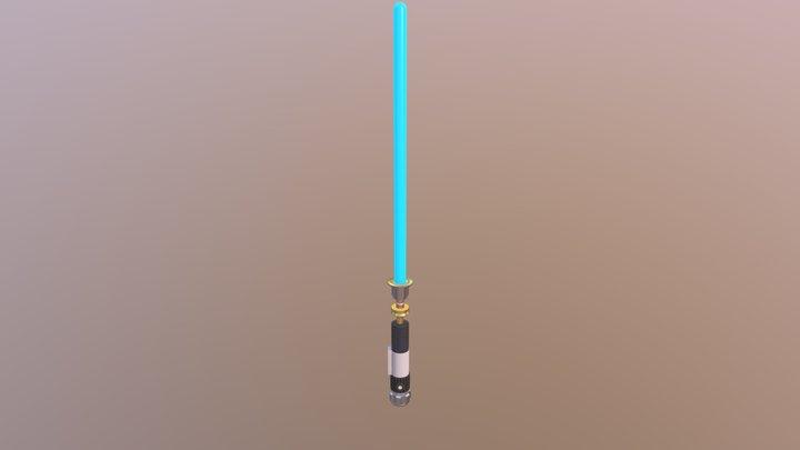 Light Saber 3D Model