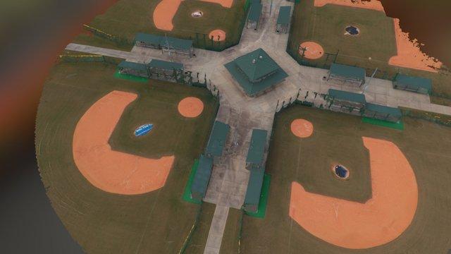 Baseball Fields 3D Model