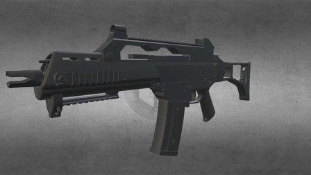 G36c 3D Model