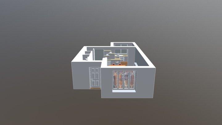 Cuisine sans extension 3D Model