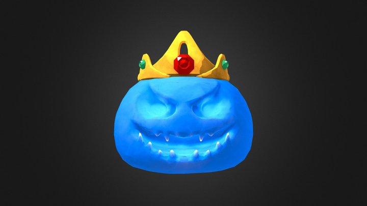 King Slime 3D Model