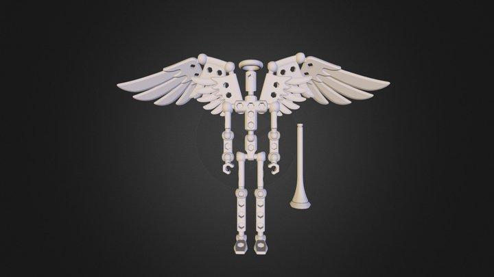 V3Angel.3ds 3D Model