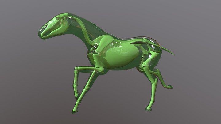 Goo Horse Run 3D Model