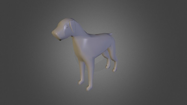 Doggy 3D Model