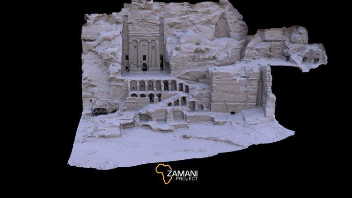 Urn Tomb, Petra 3D Model