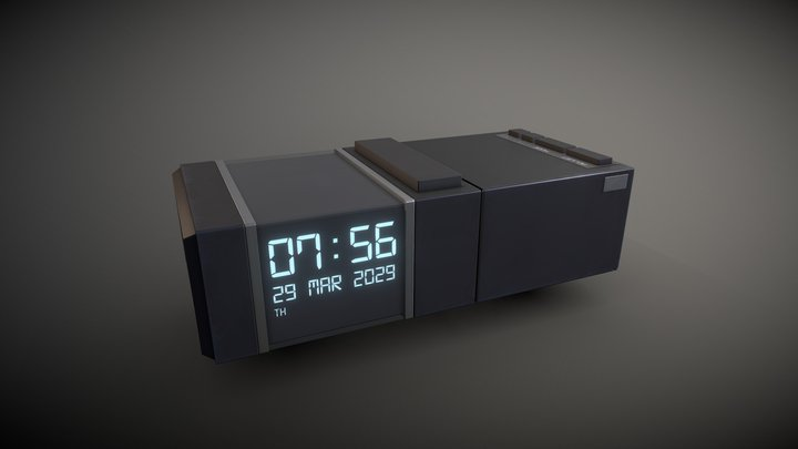 Alarm Clock (Game Prop) 3D Model