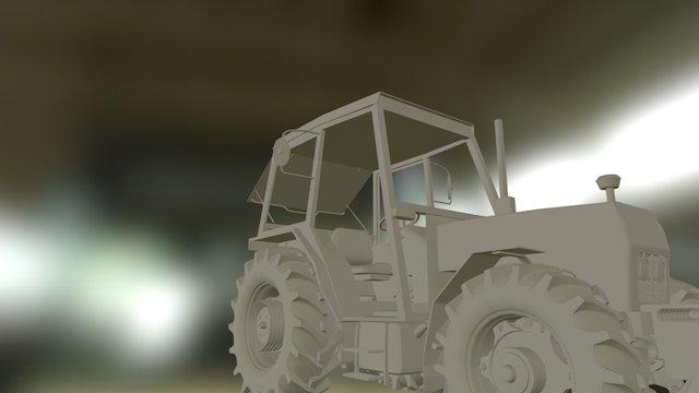 Zetor 7745 3D Model