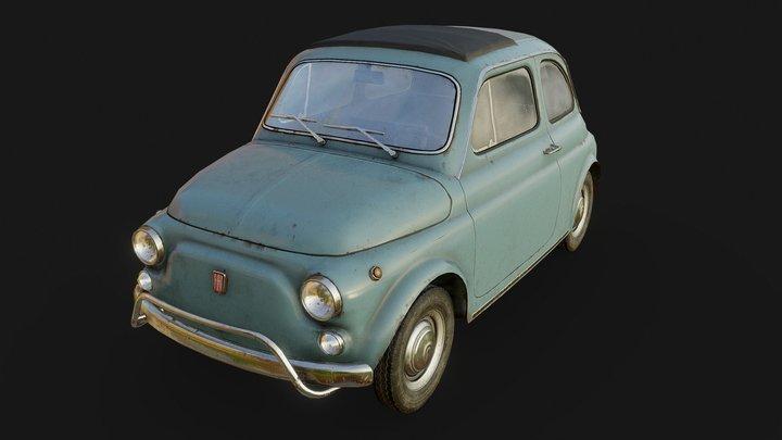 Fiat 500 3D Model
