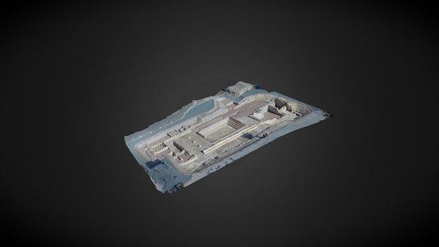 Termas Orientales de La Alcudia, Elche 3D Model