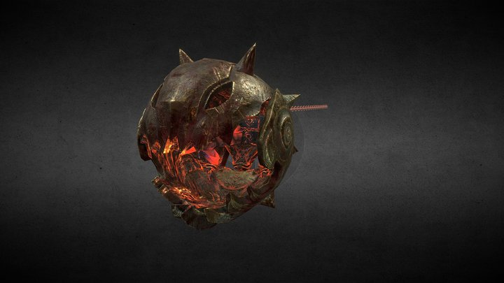 Sulfurg, the forge's soul 3D Model