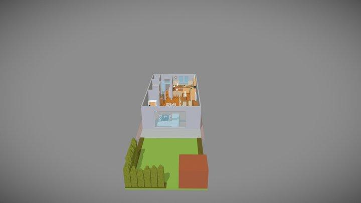 Casa 02 3D Model