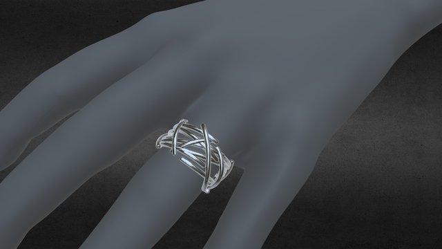 Bague nid pour Sophie 3D Model