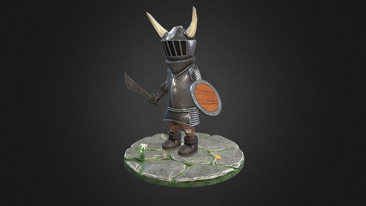 The Little Knight 3D Model