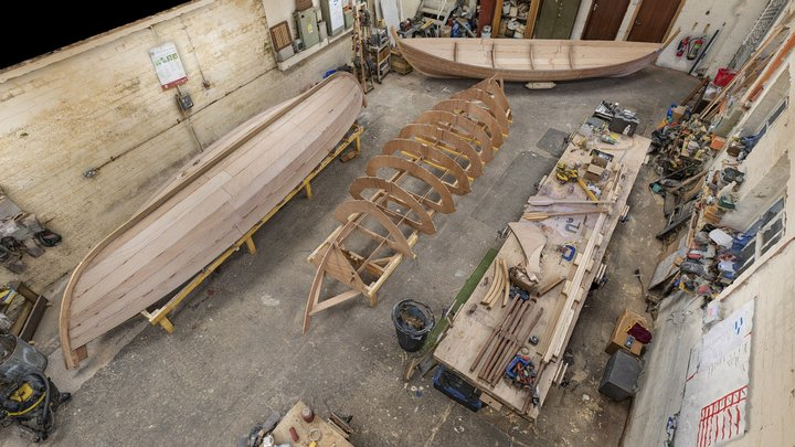 Scottish Boatbuilding School: Workshop 3D Model