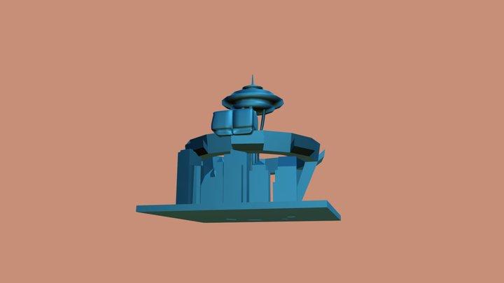 Spaceneedle 3D Model