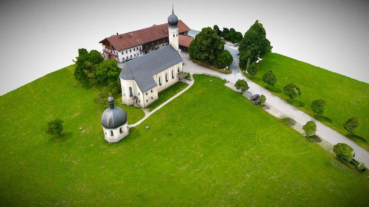 Kirche Wilparting 3D Model