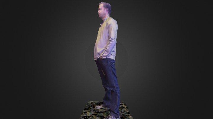 Dan F. 3D Model